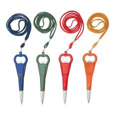 penna personalizzata con apribottiglie